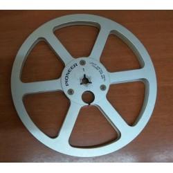 """Pioneer PR-85 Vintage 7"""" Metal Reel for Reel To Reel ( ORIGINALE )"""
