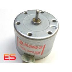 EG-530AD-2B, Motore mandrino per CD e DVD Player, CCW DC 12V MABUCHI (RPM): 2400