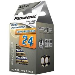 LR03 EVERYDAY POWER BATTERIE ALCALINE AAA 1,5V 24PZ. BLISTER PANASONIC