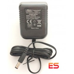 16V-0,5A-8W Alimentatore a Spina Compatibile per Giradischi Thorens & Pro-Ject