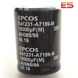 Condensatore elettrolitico radiale 15000µF 35V 105°C 30X40MM