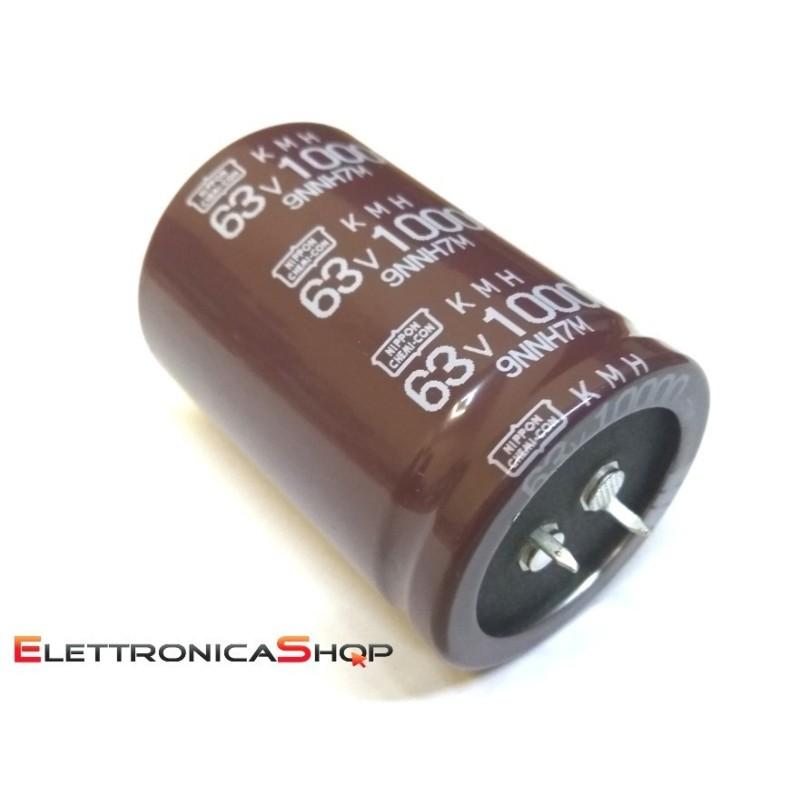 Condensatore elettrolitico radiale 10000µF  63V 105°C 35X50MM