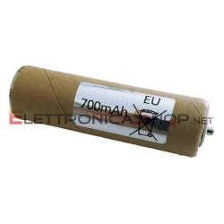 Batteria 700mAh per rasoio Panasonic ER2301 ER2302 ER203 ER204 ER230 WER2302L2508