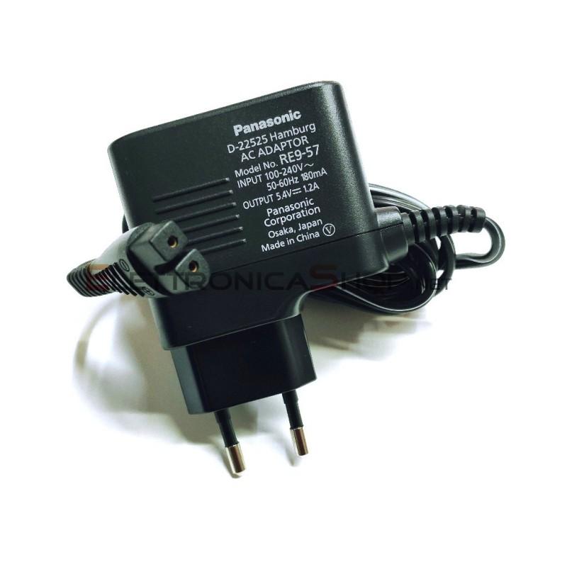 Alimentatore caricabatteria per rasoio Panasonic ER-154 ER-1510 ER-1511 ER-1512 WER1512K7P64