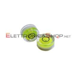 Mini livella a bolla trasparente per testine e giradischi