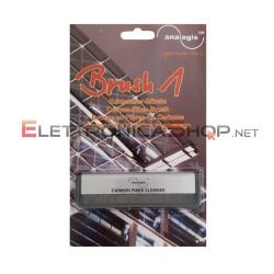 Spazzola in fibra di carbonio antistatica per dischi in vinile LP