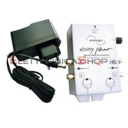 Pre-amplificatore phono Riaa MM Analogis con alimentatore per giradischi