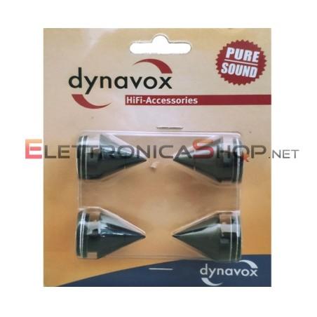 Kit 4 isolatori acustici Dynavox per componenti HiFi