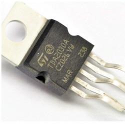 TDA 2030A - TDA 2030 A Amplificatore audio Classe AB Mono alim. duale PENTAWATT