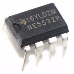 OP AMP,DUAL LOW NOISE,5532,DIP8 TYP: NE5532P