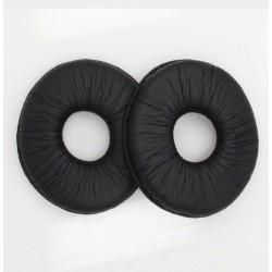 Coppia Compatibile Cuscinetti Auricolari In Pelle Per TECHNICS RP DJ1200 DJ1210